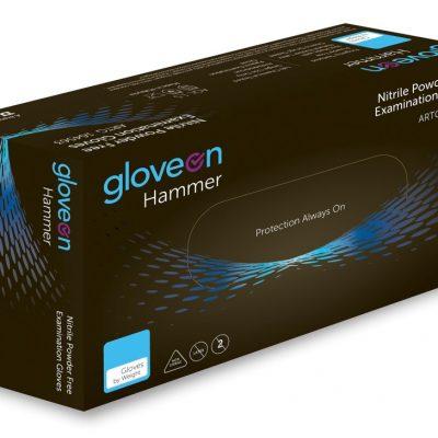 2bb49be7e9a Hammer Black Nitrile Examination Gloves (xl) 90 pieces per box