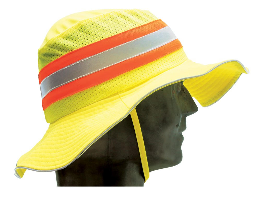 888a1228ebc Wide Brim Hat - Neon Yellow Large XL - Minebox