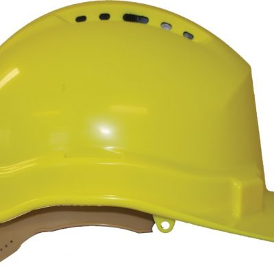 34d5106d158 Slider Hard Hat Vented and Non Vented in one - Yellow