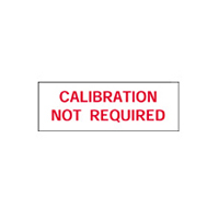 Calibration Not Required - H38mm x W15mm - Red/White