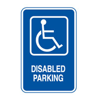 Accessible Sign - Disabled Parking Portrait - H450mm x W300mm