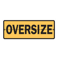 Vehicle & Truck Identification Signs - Oversize Hinged Sign