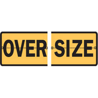 Vehicle & Truck Identification Signs - Oversize - Split Hinged Sign