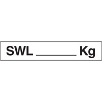 Vehicle & Truck Identification Signs - SWL___Kg