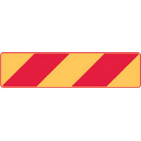 Vehicle & Truck Identification Signs - Veh & Truck ID Sign Left Stripe