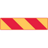 Vehicle & Truck Identification Signs - Veh & Truck ID Sign Right Stripe